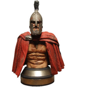 300: Leonidas Mini Bust with Helmet