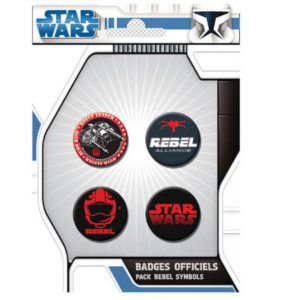 Rebel Button Set