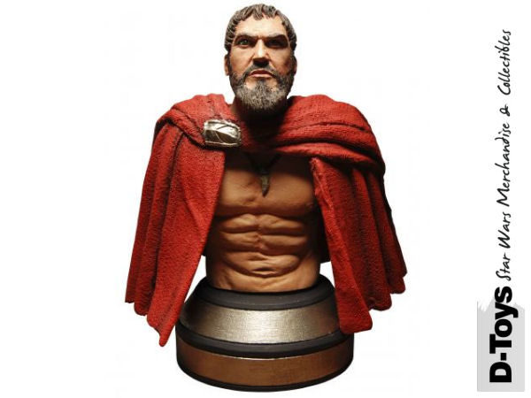 300: Leonidas Mini Bust without Helmet