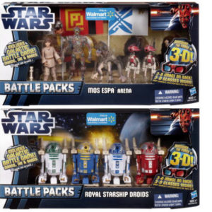 Star Wars Discover The Force 3-D Episode I Exclusive Battle Pack