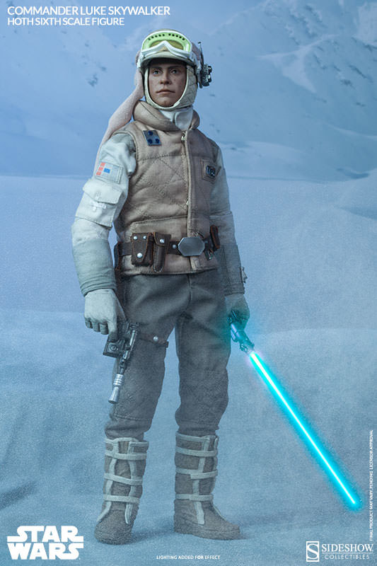 Commander Luke Skywalker Hoth 1/6 Action Figure
