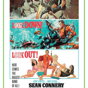 James Bond - Thunderball Movie Poster