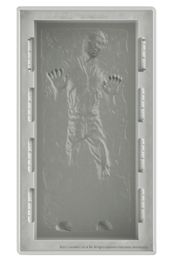Han Solo in Carbonite DX Silicone Tray