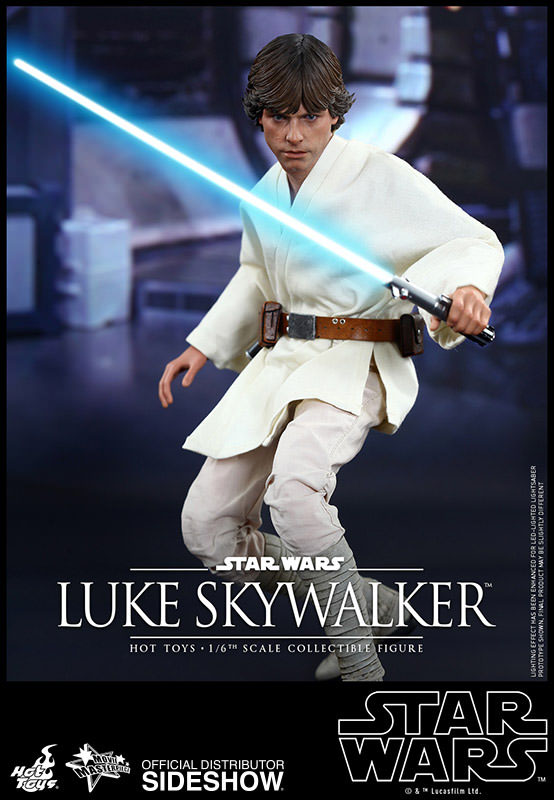 Star Wars Luke Skywalker Movie Masterpiece 1/6 Action Figure