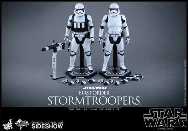 Episode VII Action Figure 2-Pack 1/6 First Order Stormtroopers