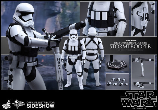Episode VII 1/6 First Order Heavy Gunner Stormtrooper