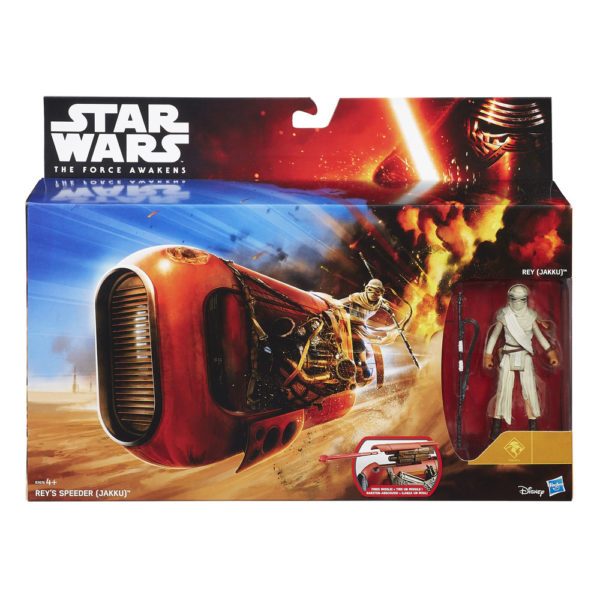 Episode VII Class I Deluxe Vehicles with Figures 2015 Wave 1