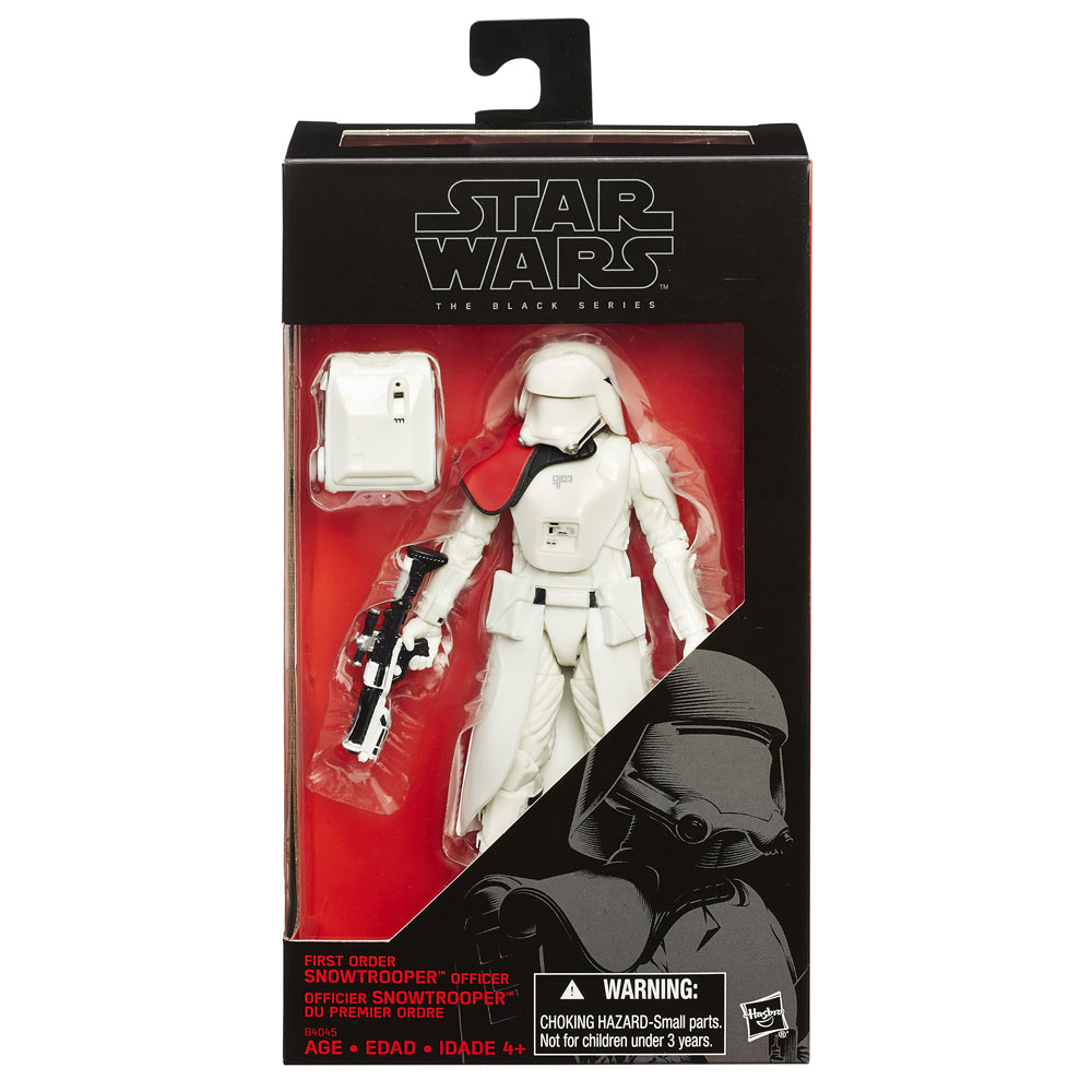 Black Series Action Figure First Order Snowtrooper Officer Excl.