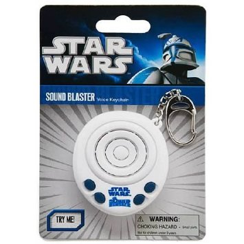 Star Wars Sound Blaster Voice Keychain