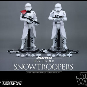 Episode VII Action Figure 2-Pack 1/6 First Order Snowtroopers