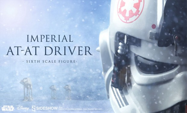 Imperial AT-AT Driver Sixth Scale Figure
