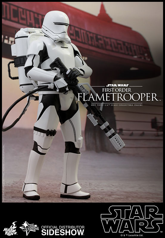 Episode VII Action Figure 1/6 Scale First Order Flametrooper