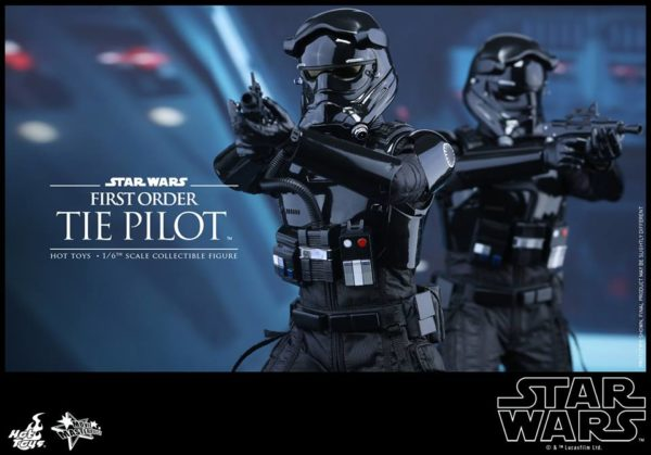 Episode VII Action Figure 1/6 First Order TIE Pilot