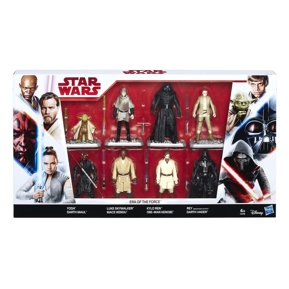 Ryddig Star Wars 8-Pack Era of the Force Exclusive 10 cm - D-Toys PG-96
