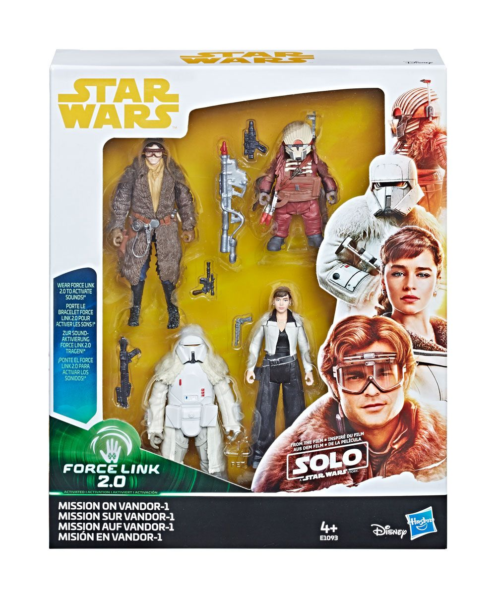 Star Wars Solo Force Link 2.0 Vehicle with Figure 2018